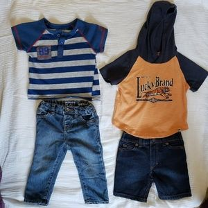 12 months Baby Clothes Dkny and Lucky Brand